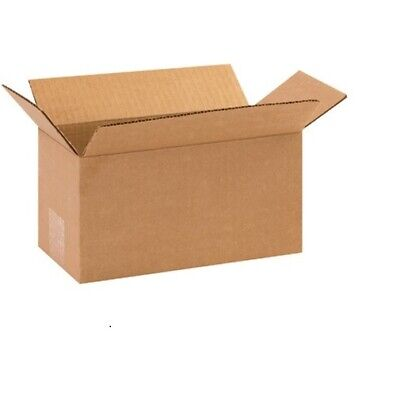 3 New Corrugated Boxes - Size 10 x 5 x 5  200# / 32 ECT