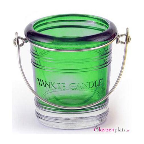 Yankee Candle® Bucket Votivkerzenhalter Votivkerze Farbe: emerald (smaragdgrün)
