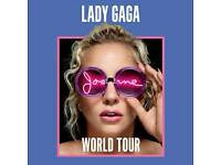 Lady Gaga - Joanne World Tour O2 Early Entry 9/10/17