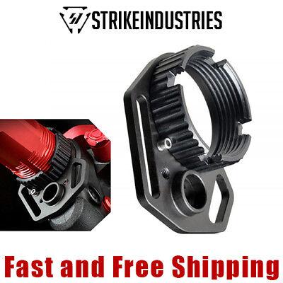 Strike Industries Anti Rotation Castle Nut   Multi Function Qd Sling End Plate