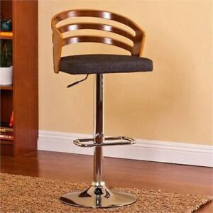 CHRISTIES HOME LIVING ADJUSTABLE BRENTWOOD CONTEMPORARY BARSTOOL
