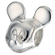 Sterling Silver Mickey Mouse Charm