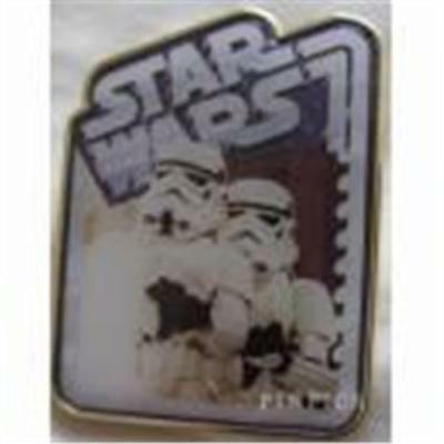 2015 STAR WARS MYSTERY PIN STORMTROOPERS- only Disney 113172