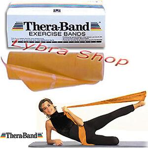 TheraBand-banda-ELASTICA-ORO-2-5-MT-Max-Resistente-Energia-Fuerza-Musculos