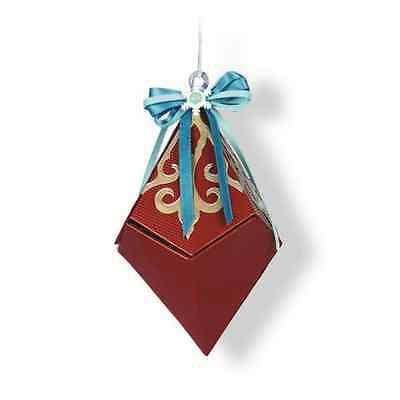 Sizzix Thinlits Die Set - Snowflake Diamond box 6PK 661554 Lindsey Serata