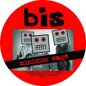 Bis-Minimum-wage-NEW-MINT-Ltd-edition-PICTURE-DISC-7-inch-vinyl-single-RSD14