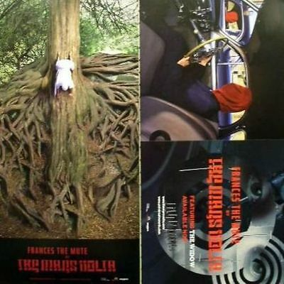 THE MARS VOLTA 2005 frances the mute 2 sided poster ~MINT cond. NEW old stock~!