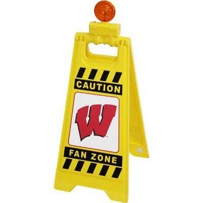 NCAA Wisconsin Badgers, FAN ZONE FLOOR STAND, NEW