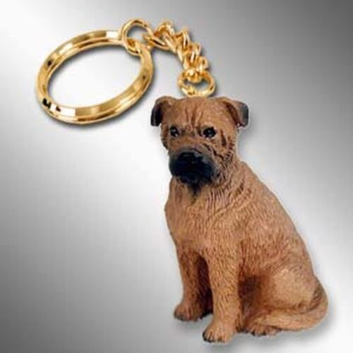 Bullmastiff Dog Tiny One Resin Keychain Key Chain Ring