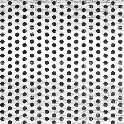 Perforated Staggered Steel Sheet .036 Thick X 24 X 24 .075 Hole Dia.