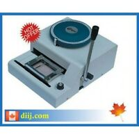 EMT-70 Manual PVC Card Embossing Machine