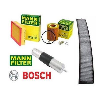OEM FIlter Kit Oil Filter,Air Filter,Gas Filter,Cabin Filter BMW E46 1999 2000