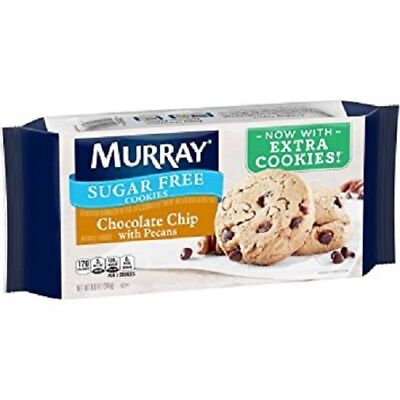 Murray Sugar Free Chocolate Chip with Pecans Extra Cookies ()