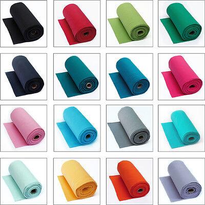 Stoff-farben (Bündchen Schlauchware uni Jersey Farbenauswahl 25cm Stoff Stoffe Stoffmädel )