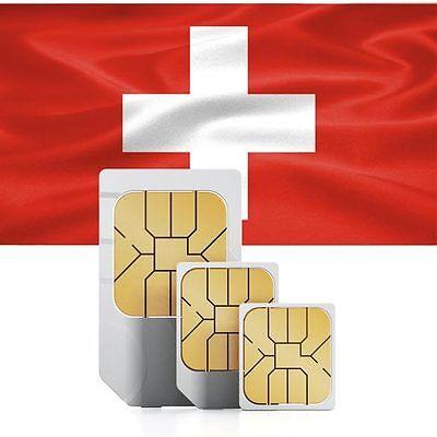Schweiz Daten SIM + 500 MB für 30 Tage