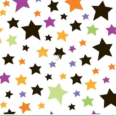 Trick Or Treat Costumes For Kids (Trick or Treat White Stars by Doodlebug Designs for Riley Blake, 1/2 yard)
