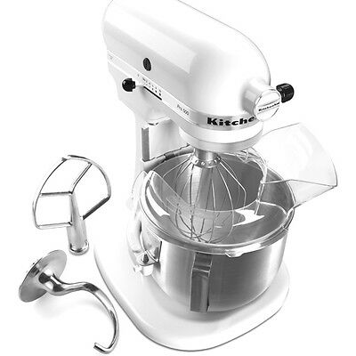 مضرب كهربائي جديد KitchenAid Pro 500 KSM500PSWH Stand Mixer