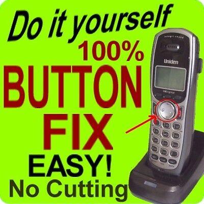 4x Uniden Button Repair TCX905 TRU9460 TRU9465 TRU9466 TRU9480 TRU9485 TRU9488