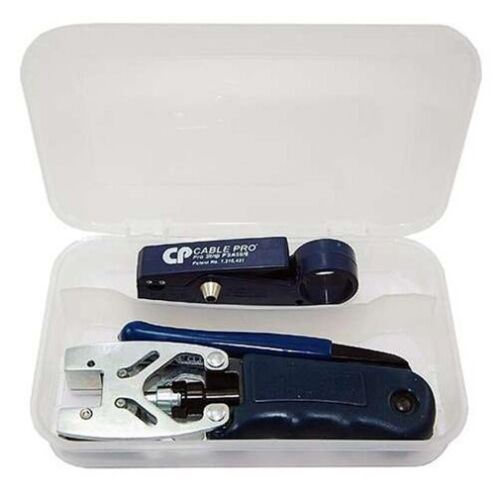 Belden Double Bubble Express Tool Kit Compression Tool and Cable Strip Tool
