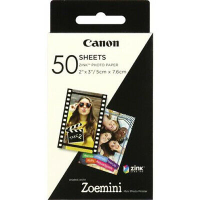 Canon Zink Foto Papier ZP-2030  50 Blatt für Zoemini Fotodrucker