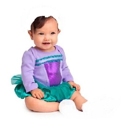 ARIEL~BODYSUIT~Costume~Baby 0-2yr~the Little Mermaid~NWT~Disney Store~2013