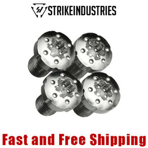 Strike Industries 1911 Torx Pistol Grip Screws - Stainless Steel (4 PC)