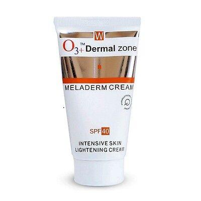 O3 + Dermal Zone Meladerm Intensive Skin Lightening Cream  with SPF 40 Free - Dermal Lightening