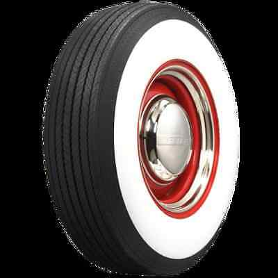 "L78-15 COKER 4"" WIDE WHITEWALL BIAS TIRE - Rim/Cap Not Included"