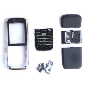 NEW Cover Housing Case Black For Nokia 6233+Keypad+Tool