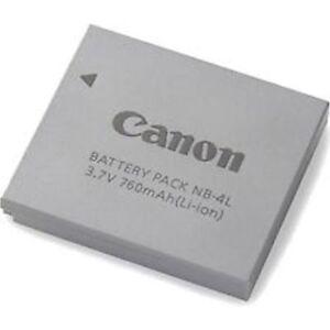 CANON NB-4L Akku f. Ixus 30 40 50 55 60 65 70 75 80 100 110 115 IS 120/ CB-2LVE