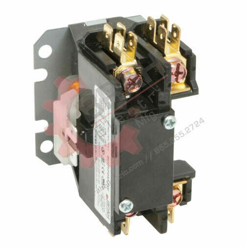 BDP2P40A277V, BRAH Electric aftermarket contactor BDP, 2P, 1PH, 40A 277V AC Coil