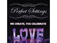 Wedding and Event Venue Decoration