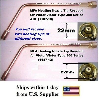 Mfa Heating Nozzle Tips Rosebud For Victor And Victor-type 300 Series No.1012