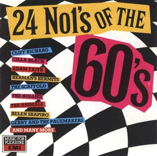 24 Number Ones of the 60's : Various (1990) CD