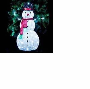 Glitter Snowman led 80cm high Minchinbury Blacktown Area Preview