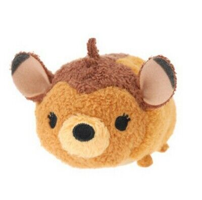 "New Disney TSUM TSUM Deer Bambi Mini Soft Plush Toys Screen Cleaner 3.5""/9cm"