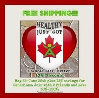 Free shipping & 13% off Isagenix programs!