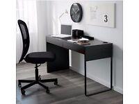 Ikea Micke brown-black desk