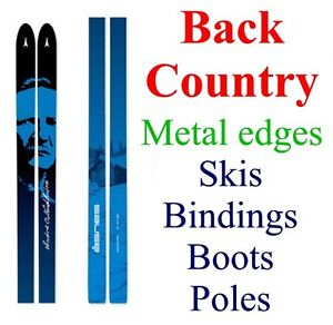 New Real Back Country Bc Cross Country Xc Skis Bindings