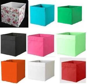 ikea drona caja almacenaje para kallax expedit unidad juego cath kidston rosali ebay. Black Bedroom Furniture Sets. Home Design Ideas