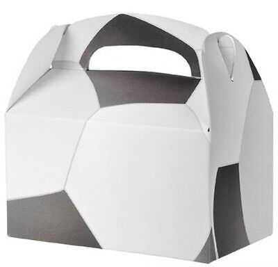 24 SOCCER  PARTY TREAT BOXES FAVORS GOODY BAG  PRIZE GIFT BASKET CARNIVAL](Soccer Party Favors)