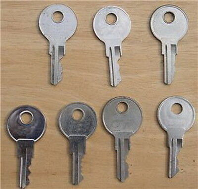 SPARE KEYS FOR RV-TRUCK-TOOL BOX-T HDL-TOPPERS-TRUCK CANOPY-...