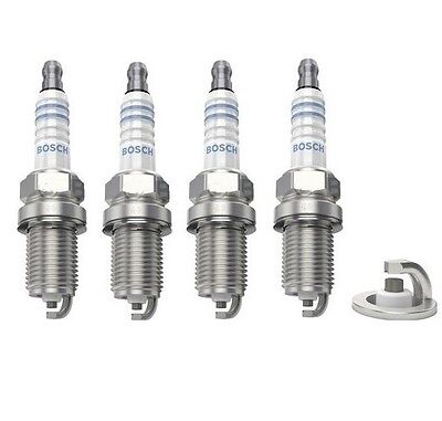 4x Renault Kangoo 1.2 Genuine Denso Standard Spark Plugs