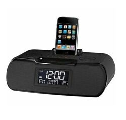 Sangean RCR-10 Clock Radio AM/FM RDS Digital Tuning 30 Pin iPod or iPhone [LN]™