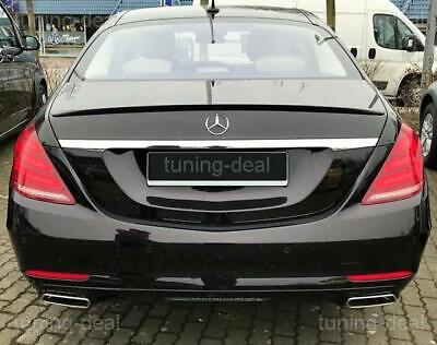 Tuning-deal Spoiler passend für Mercedes-Benz S-Klasse W222 Heckspoiler