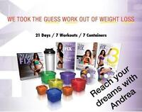 The 21 day fix can change your life.