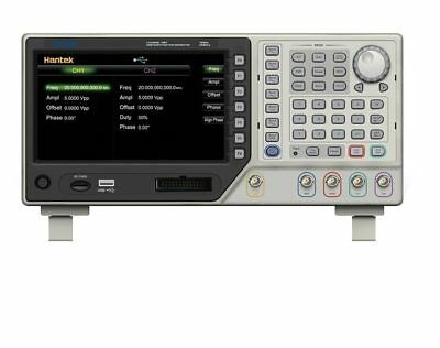 Benchtop Dds Function Generator 2 Channel 5mh 250msas Signal Arbitrary Hdg2002b