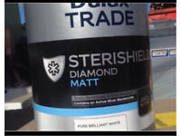 Dulux Trade Sterishield Pure Brilliant White 5L