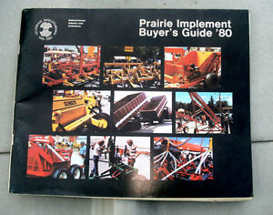 Prairie Implement Buyer's Guide 1980