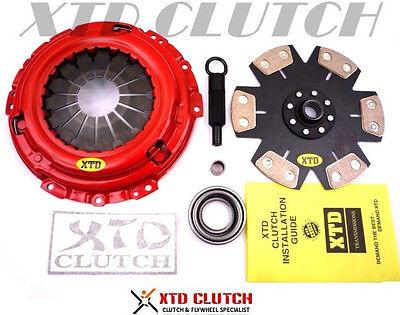 6 Puck Clutch Kit - XTD STAGE 4 6PUCK CLUTCH KIT FITS SILVIA S13 S14 SR20DET or 240SX W/SR20DET